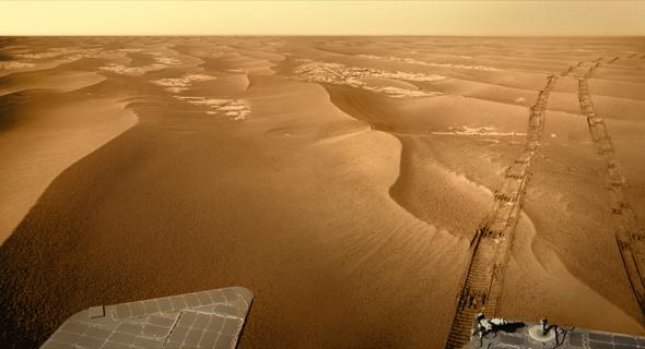 The Dunes of Meridiani Plain