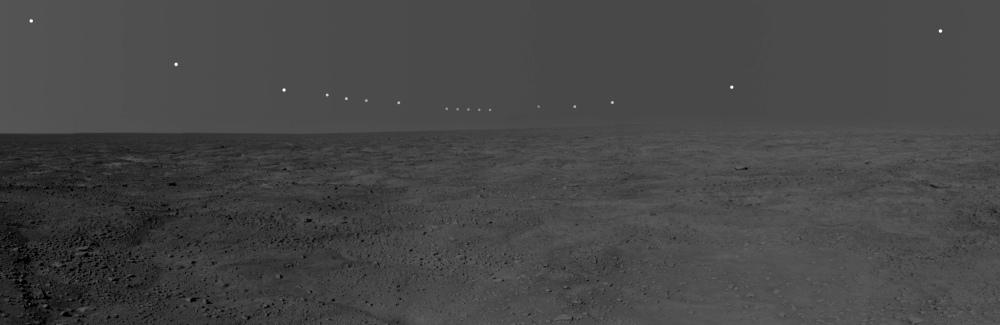 The Martian Polar Sun