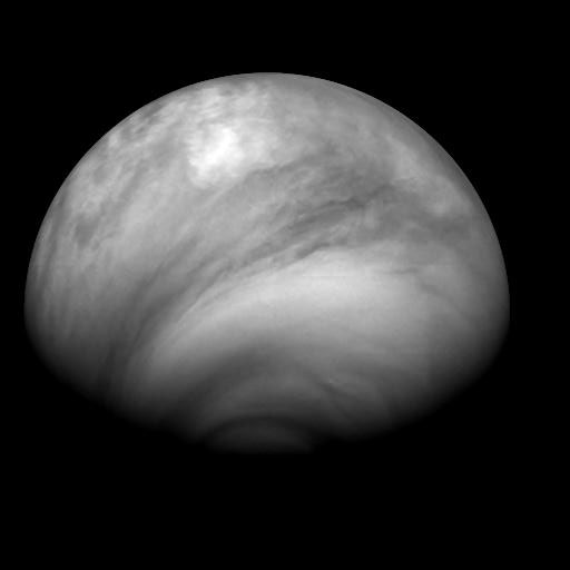 Venus in Infrared