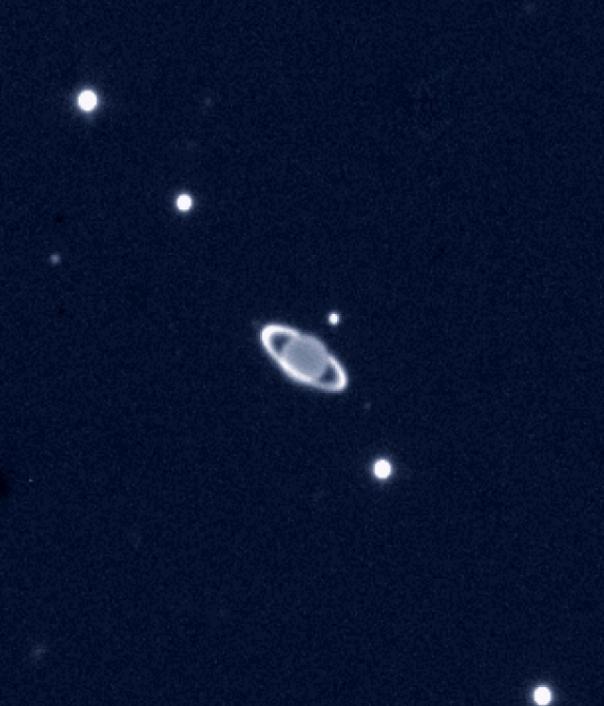 Distant Ringed Uranus