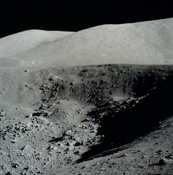 Lunar craters stay in chilly shade