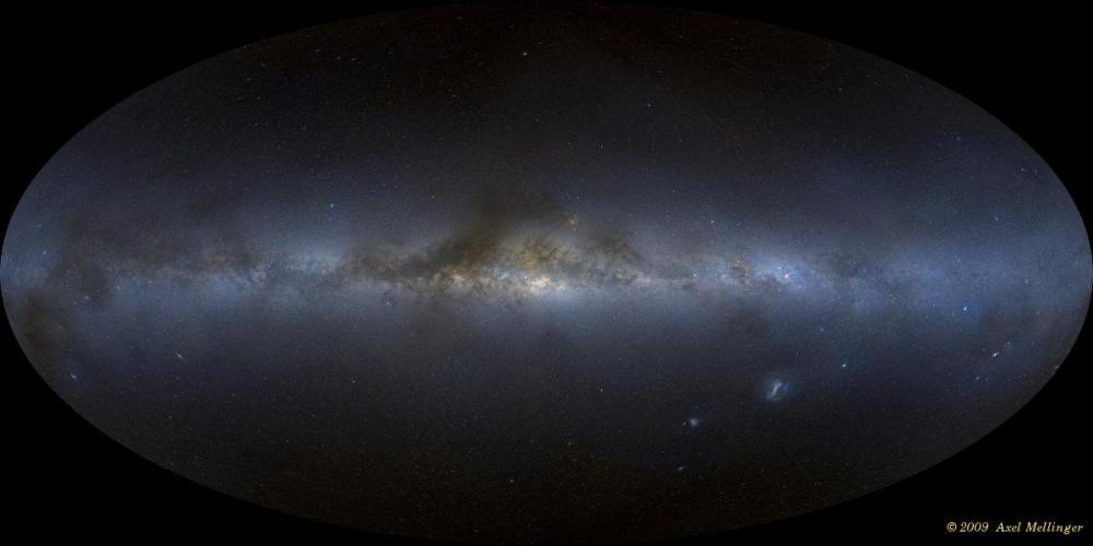 Axel Mellinger's All-Sky Milky Way Panorama 2.0