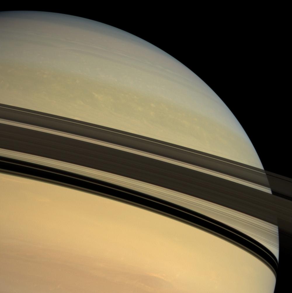 Saturn in full color