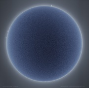 Photo of the Sun by Alan Friedman