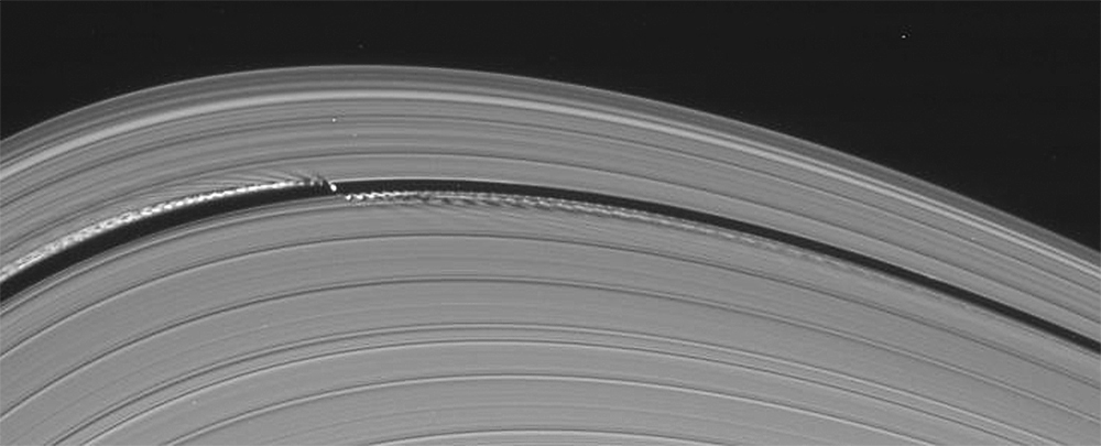 Cassini Has Just Taken the Best Picture of Daphnis Yet ...