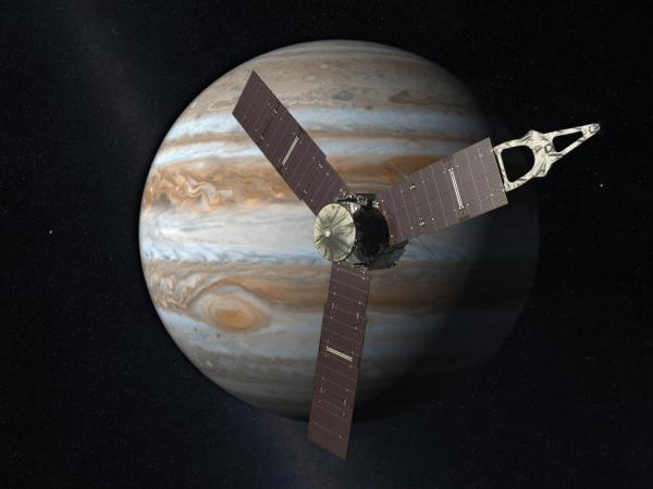 Juno will reach Jupiter in 2016. Credit: NASA/JPL