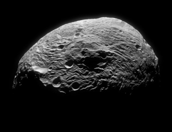 Image of Vesta's south pole acquired by Dawn on July 18, 2011