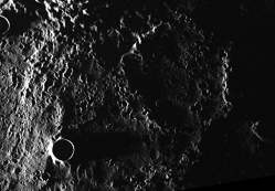 MESSENGER image acquired from orbit around Mercury on June 17, 2011