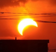 May 20, 2012 eclipse photographed from Texas (© Jason Major)