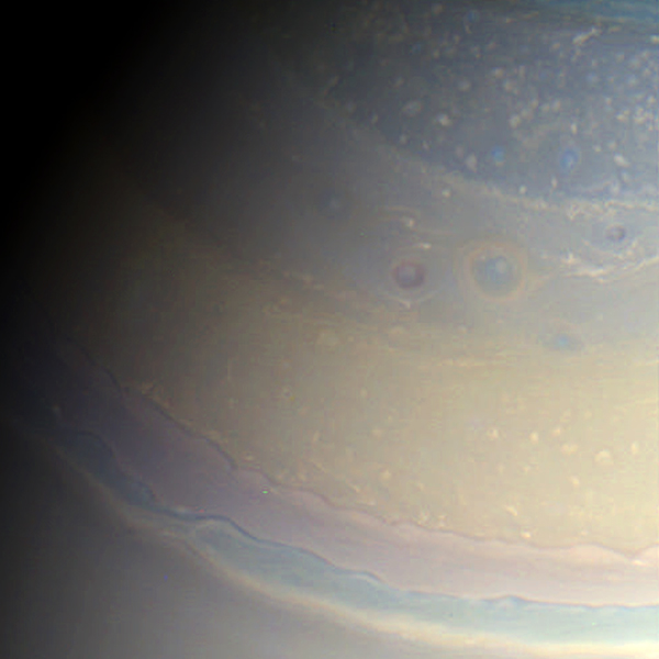 Saturn's Northern Colors 2