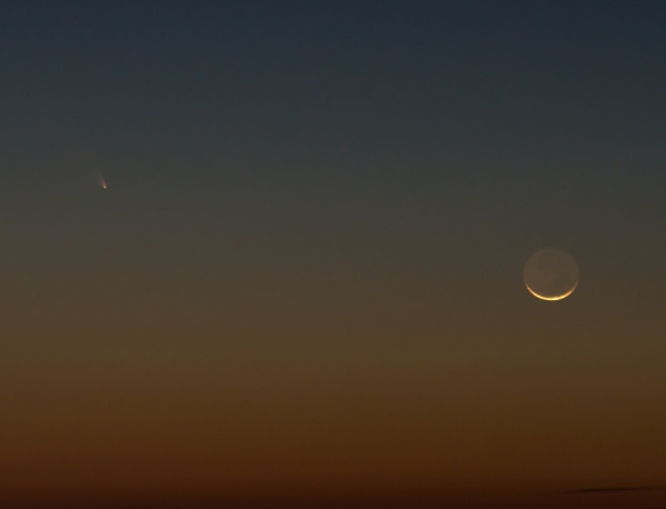 Pan-STARRS seen from northwestern Georgia by Stephen Rahn
