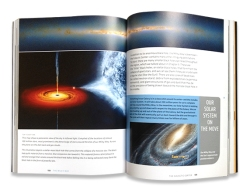 Your Ticket to the Universe is full of images and graphics of astronomical wonders.