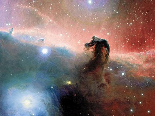 The Horsehead nebula imaged in optical wavelengths by the Canada-France-Hawaii Telescope in Hawaii (Jean-Charles Cuillandre [CFHT], Hawaiian Starlight, CFHT)