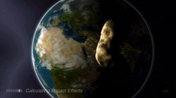 Purdue University's Impact: Earth! allows you to calculate the effects of any type of asteroid impact.