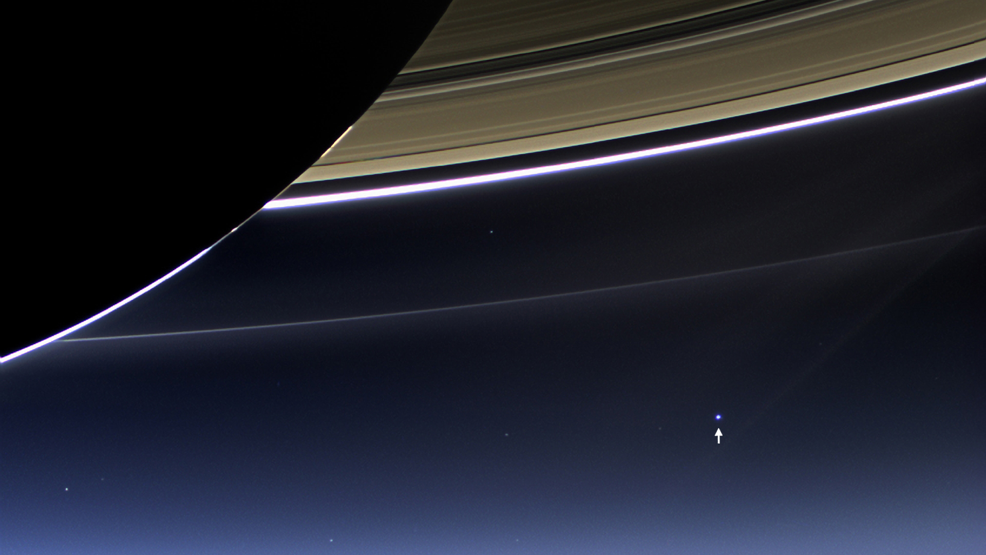 Incredible Images Of Earth From Saturn And Mercury