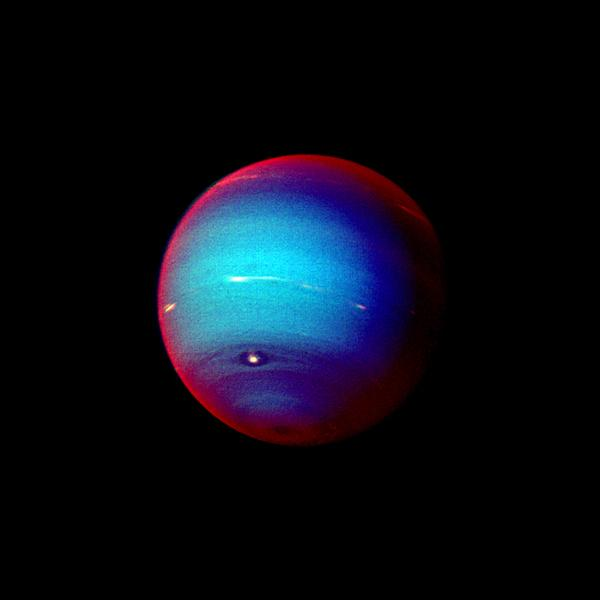"Neptune in ""False Color"" (NASA/JPL)"