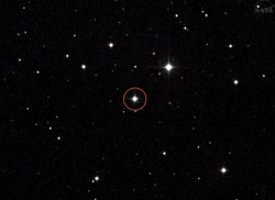 Voyager 1 is headed toward this star. It will get there in 40,000 years.