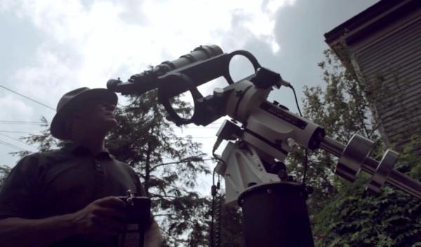 Alan Friedman, Solar Photographer. (Click to play)