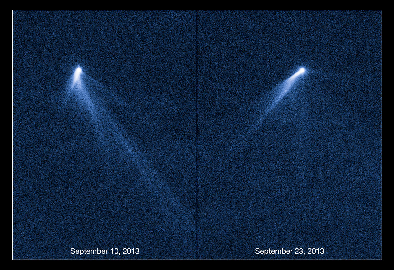 Astronomers Spot an Asteroid Sporting Six Comet-Like Tails ...