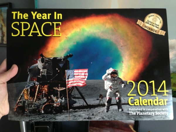 The 2014 Year in Space calendar -- order yours today!