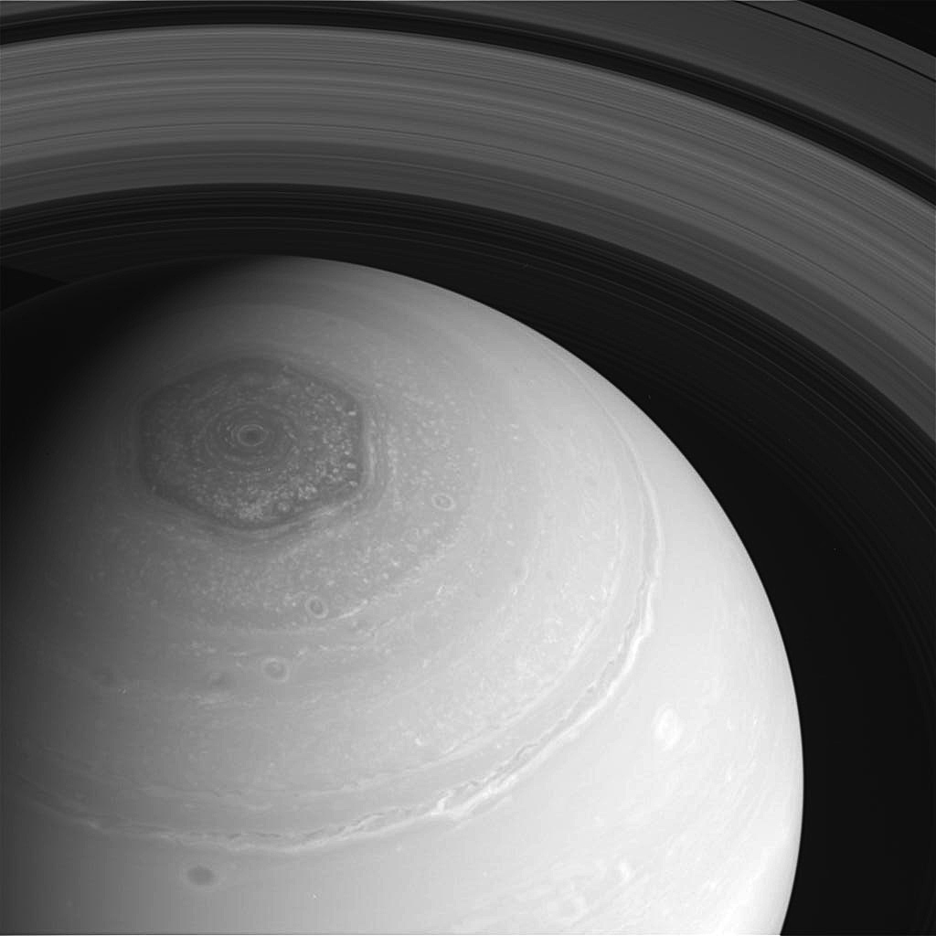 Saturn - Cassini Captures Saturn And Its Moons - Pictures ...