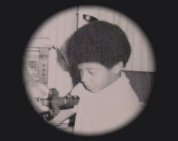 11-year-old Neil deGrasse Tyson with his first telescope (NOVA)
