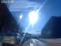 A bolide detonated over Murmansk, Russia on April 19, 2014