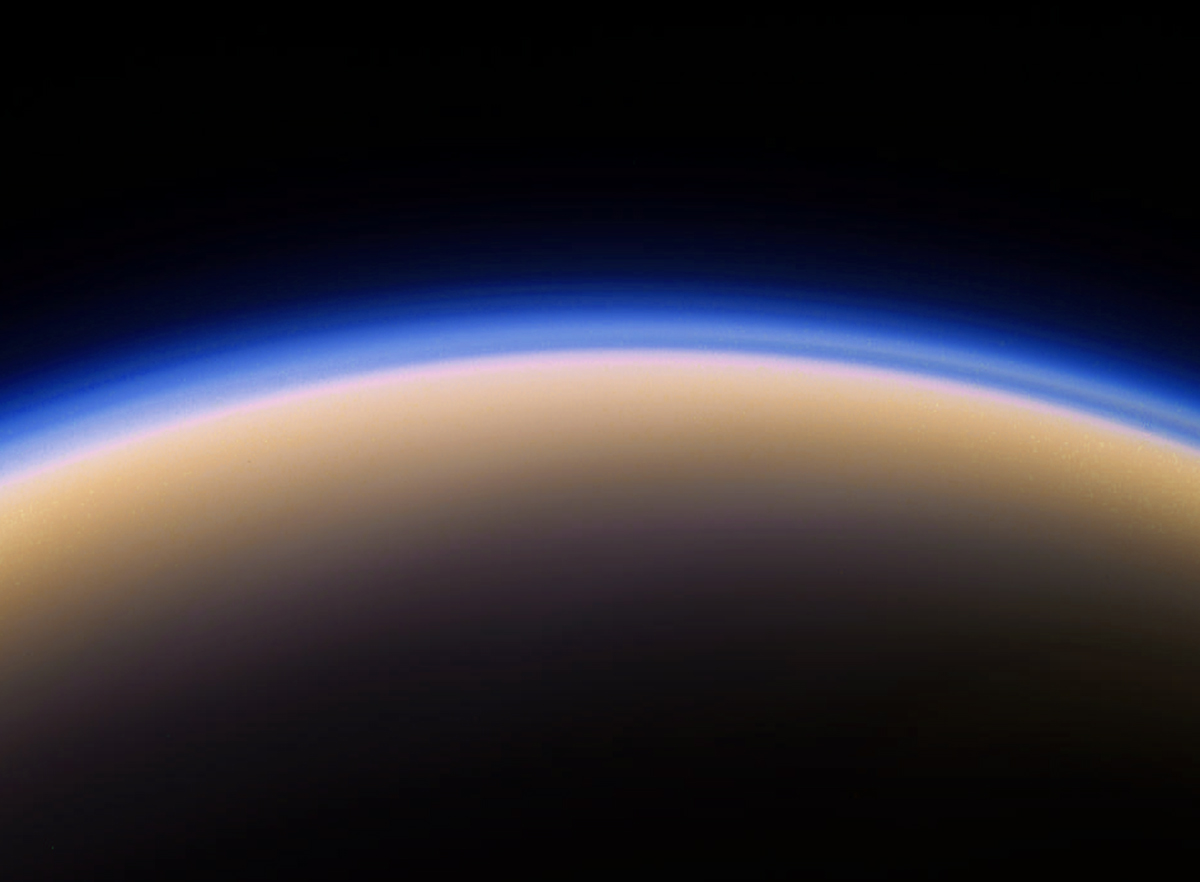 Just Another Hazy Day On Titan Lights In The Dark