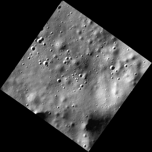 One of MESSENGER's highest-resolution images of Mercury's surface yet