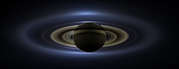 "Mosaic from the Cassini imaging team of Saturn on July 19, 2013… the ""Day the Earth Smiled"" (NASA/JPL-Caltech/SSI)"
