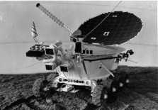 Model of the Lunokhod 2 rover. Click for source and more info on the program.