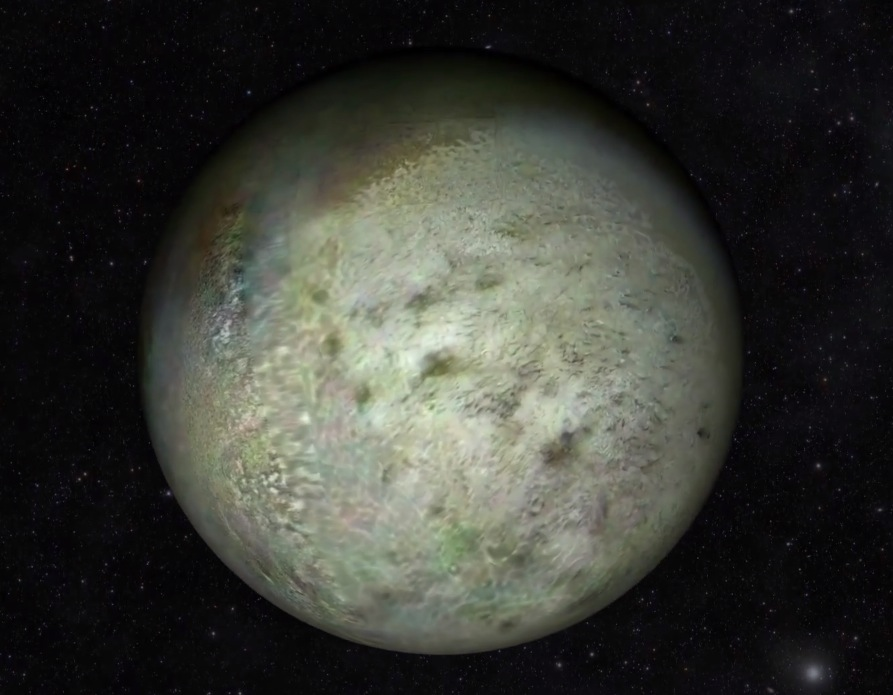 New Global Map of Triton Shows Neptune's Moon Like Never ...