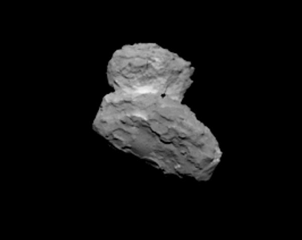 Comet 67P/C-G on Aug. 1, 2014 from 1,000 km (ESA/Rosetta/MPS for OSIRIS Team MPS/UPD/LAM/IAA/SSO/INTA/UPM/DASP/IDA)