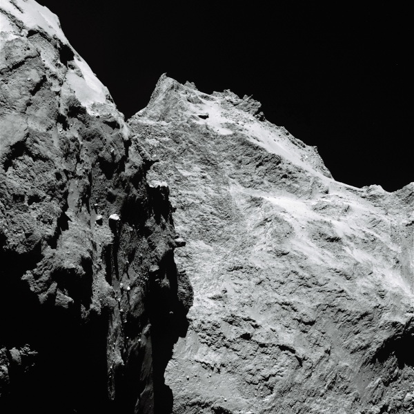 Comet 67P/C-G on Sept. 5, 2014. (ESA/Rosetta/MPS for OSIRIS Team MPS/UPD/LAM/IAA/SSO/INTA/UPM/DASP/IDA)