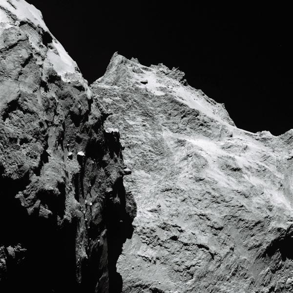 Comet 67P/C-G on Sept. 5, 2014. (ESA/Rosetta/MPS for OSIRIS Team MPS/UPD/LAM/IAA/SSO/INTA/UPM/DASP/IDA)