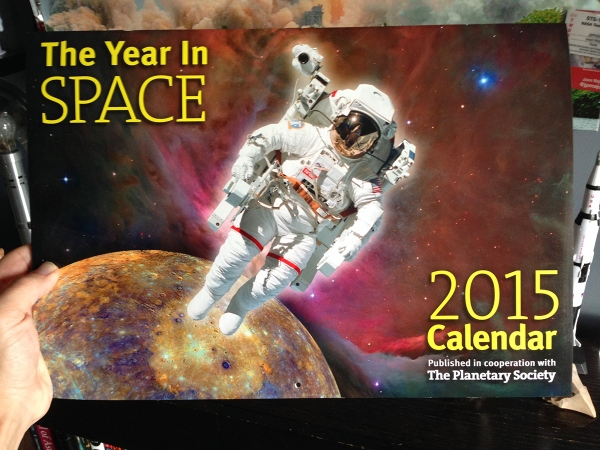 The 2015 Year in Space calendar -- full of awesome space info!