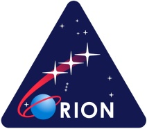 The Orion mission logo.