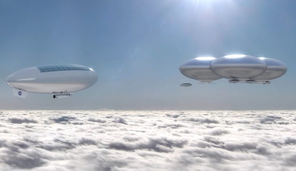 "Will humans one day be living in ""cloud cities"" above Venus? (NASA Langley)"
