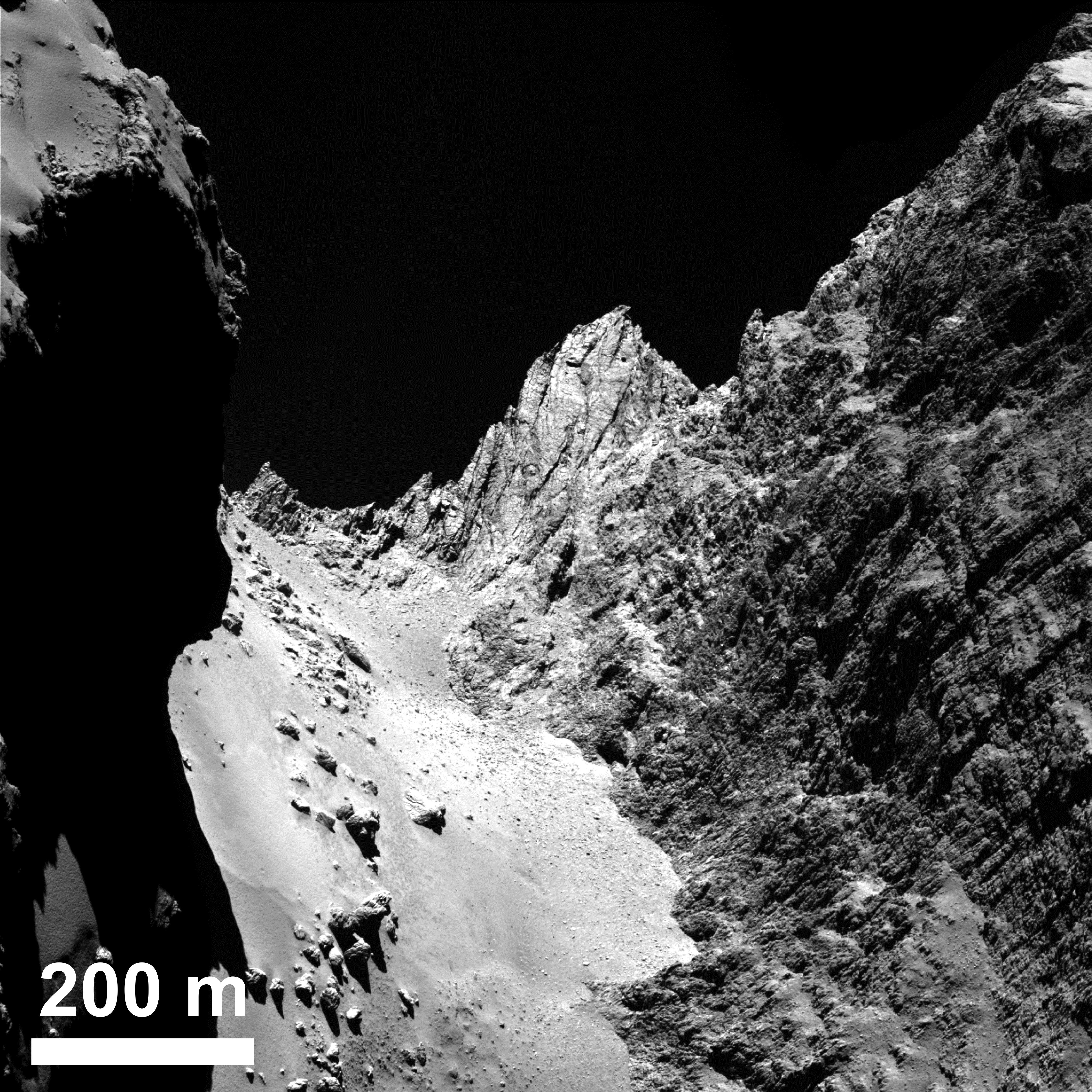 Been Waiting for Hi-Res OSIRIS Images of Rosetta's Comet ...