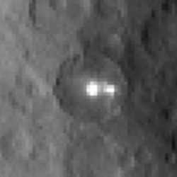 Surprise – Ceres' bright spot is actually twins!