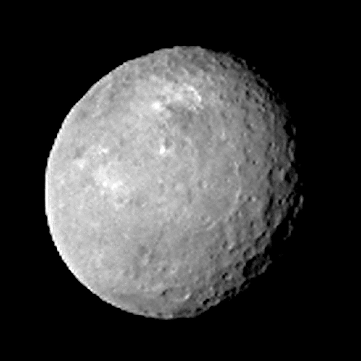 Image Of Ceres Captured By NASAs Dawn Spacecraft During Approach On Feb 12 2015