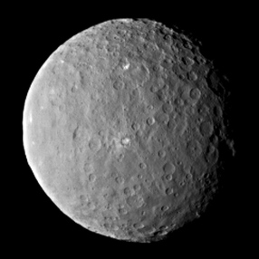 Image of Ceres captured by Dawn  on Feb. 19, 2015.