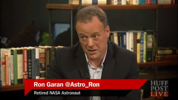"Ron Garan: ""I think we have a long, long way to go to get to Mars."" (HuffPost LIVE)"