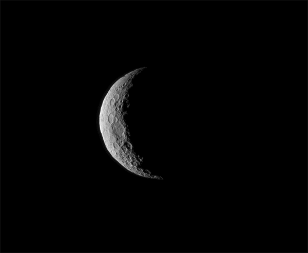 Image of the 600-mile-wide Ceres captured by Dawn on March 1, 2015. (NASA/JPL-Caltech/UCLA/MPS/DLR/IDA)