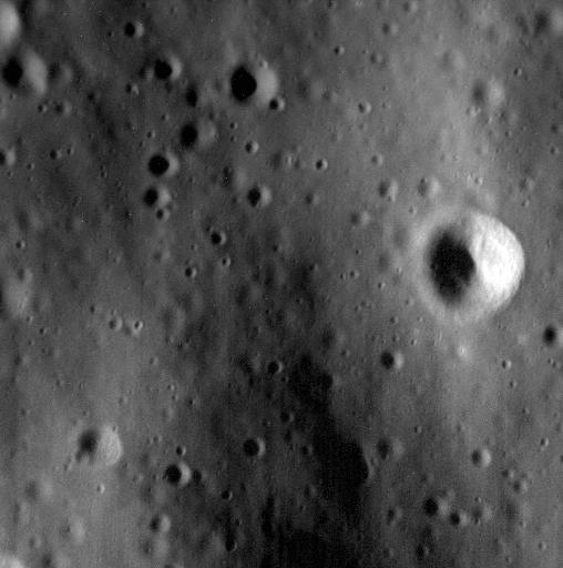 This 1.1m/pixel image of Mercury is one of MESSENGER's closest ever acquired, on April 23, 2015.