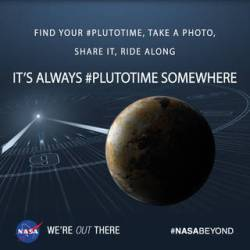 It's always #PlutoTime somewhere! (Yes, literally.)