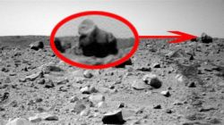 Remember the gorilla on Mars? Needless to say it wasn't a gorilla on Mars.