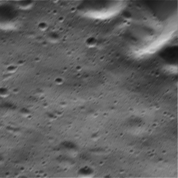 At 3 meters per pixel this NAC image, acquired Aug. 17, is the highest-resolution view of Dione's surface ever obtained.