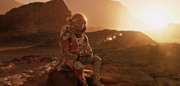 The Martian is a sci-fi film that's really a romance about science.