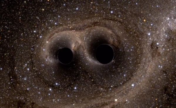 Ripples in space-time from merging black holes have been detected for the first time in history (LIGO/Caltech/NSF)